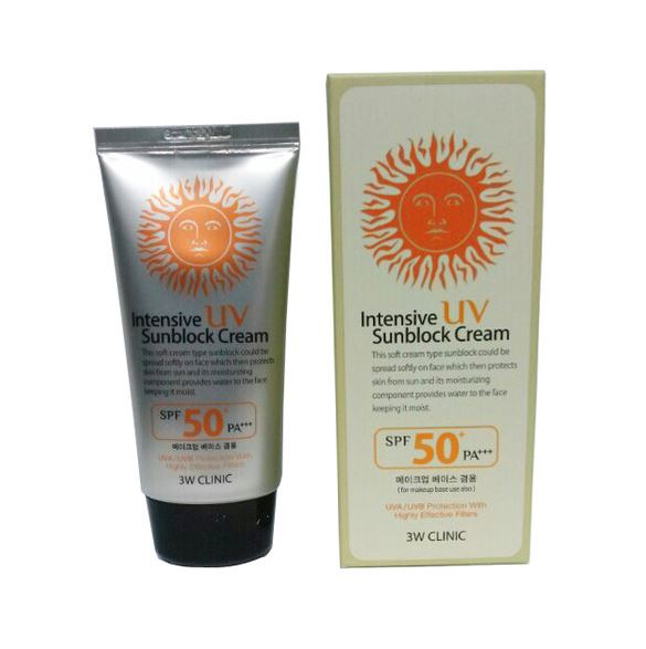 3W Intensive UV Sunblock