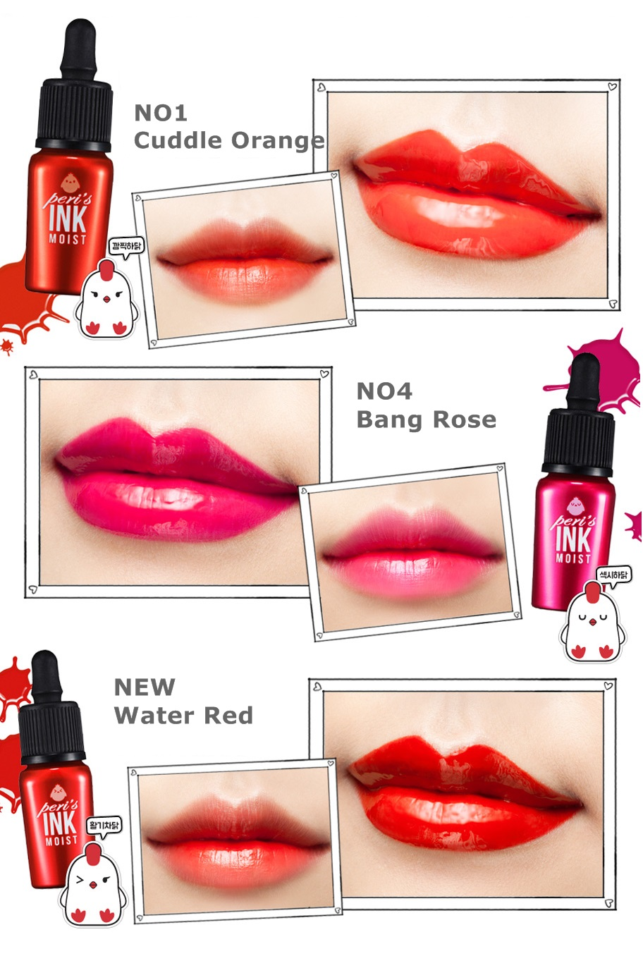 Review: Peripera Peri's Tint Water in #5 Candy Juice ...