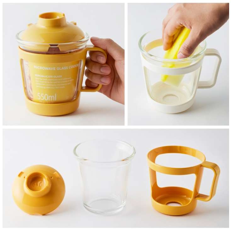 Lock and Lock Glass Cup
