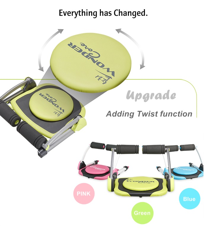 As Seen On Tv Wonder Core Smart T Twist Exercise System