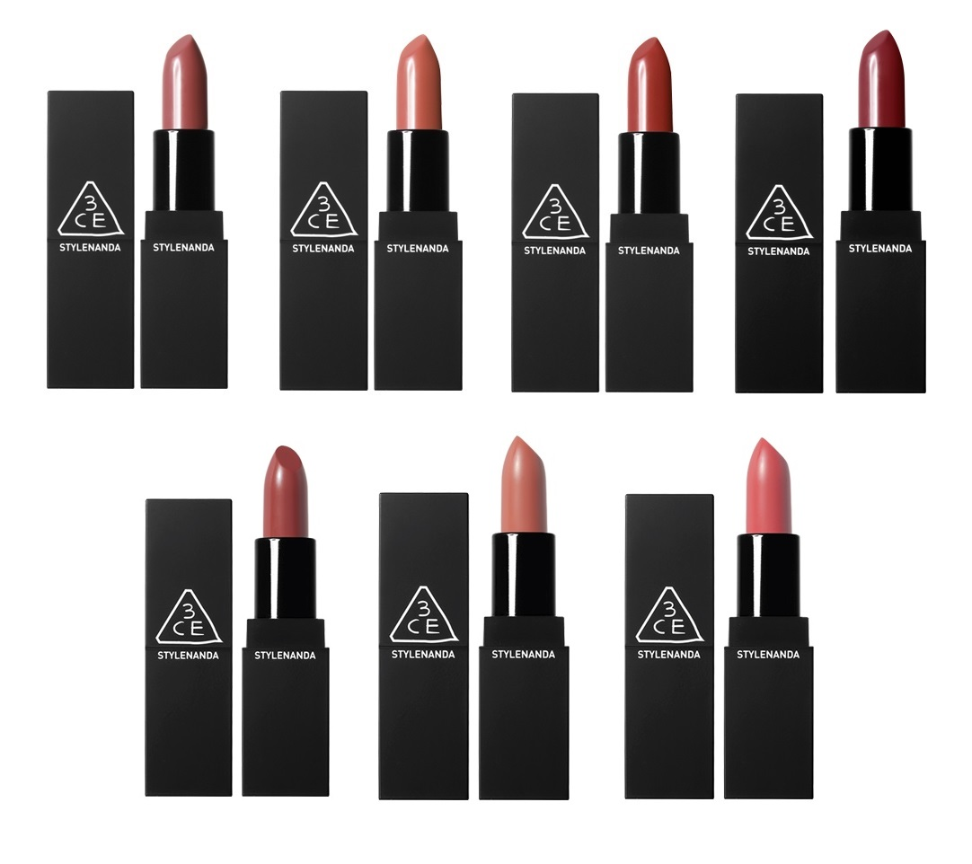 3ce 3 Concept Eyes Lip Color Matte 909 908 907 606 118 119 Mini Lipstick Pink Rumour Danagerous
