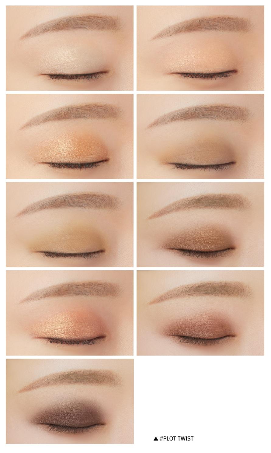3CE 3 Concept Eyes Mood Recipe NEW Multi Eye Color Palette ...