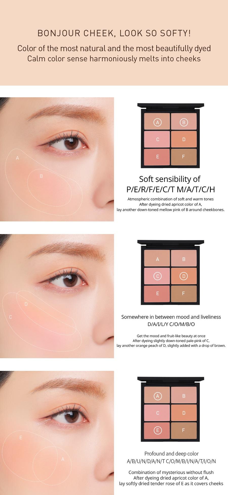 Stylenanda 3CE 3 Concept Eyes Pro Multi Blush Color Palette Special Kit  (25g 0 88 oz)
