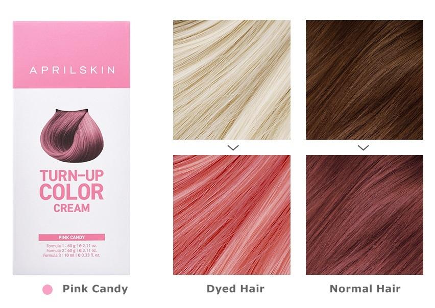 April Skin Turn Up Color Cream Long lasting Texture Type Hair Dye   eBay