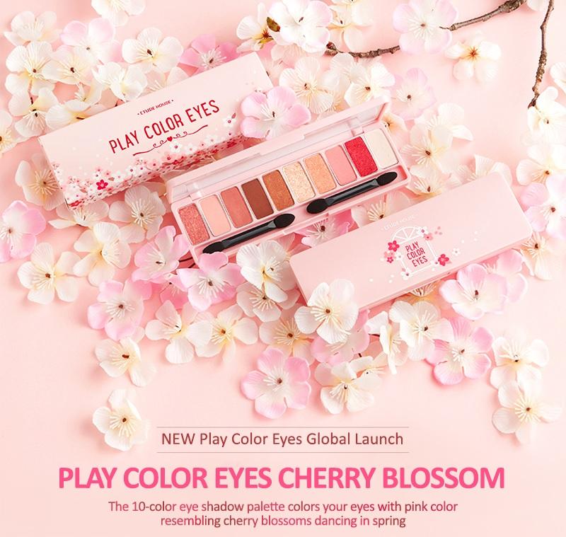 Etude House Play Color Eyes Cherry Blossom Eye Palette