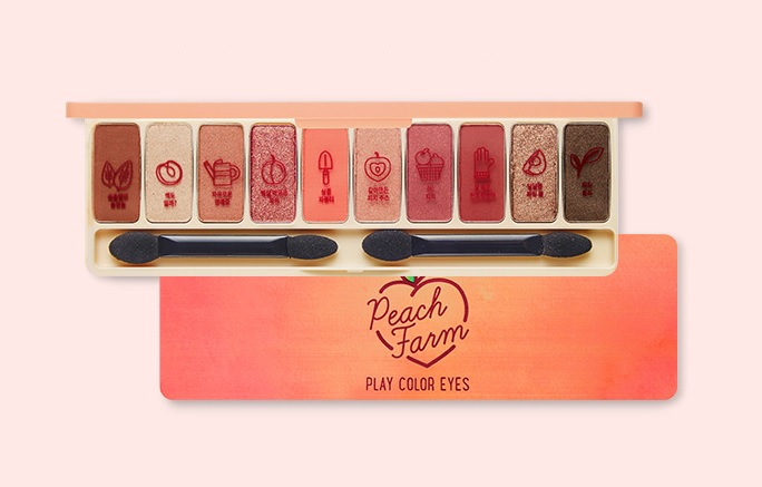 Image result for etude house play color eyes peach farm