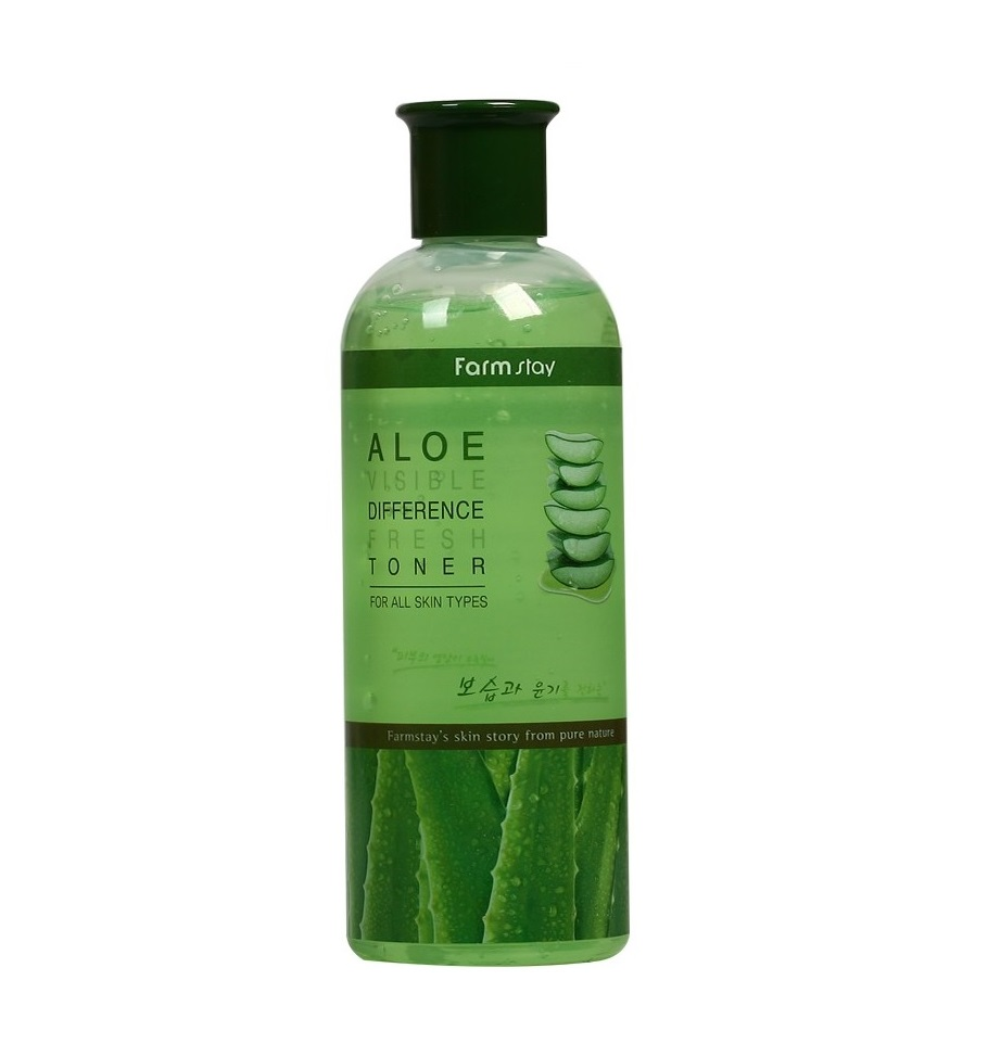 Farmstay Aloe Visible Difference Fresh Emulsion Or Toner