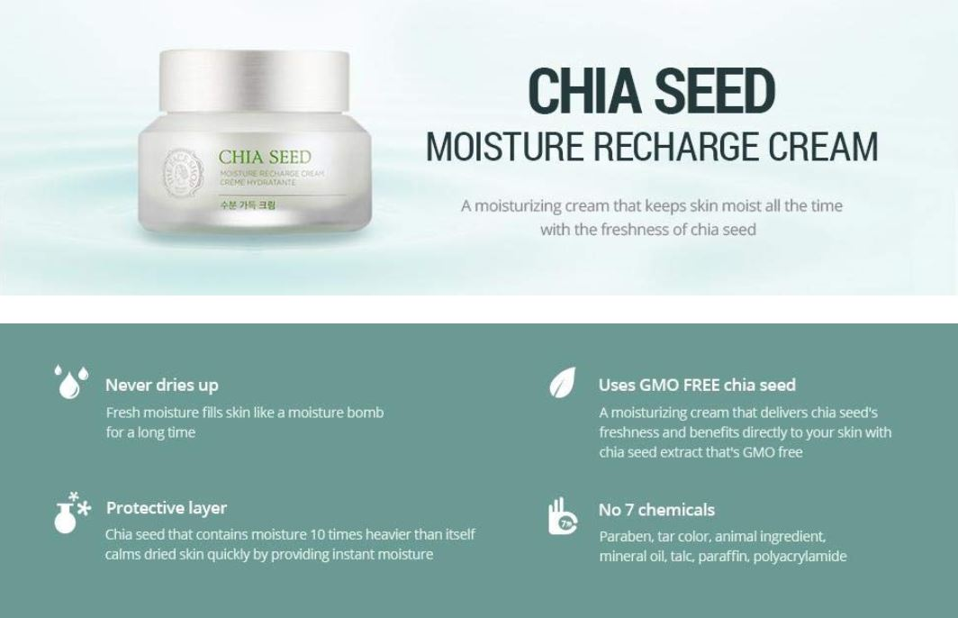 The Face Shop Chia Seed Cream