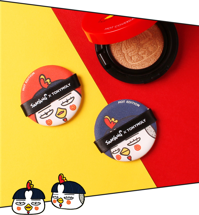 Tonymoly HOT Edition Tok Tok Puff