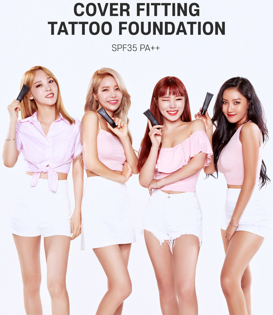 INGA Cover Fitting Tattoo Foundation