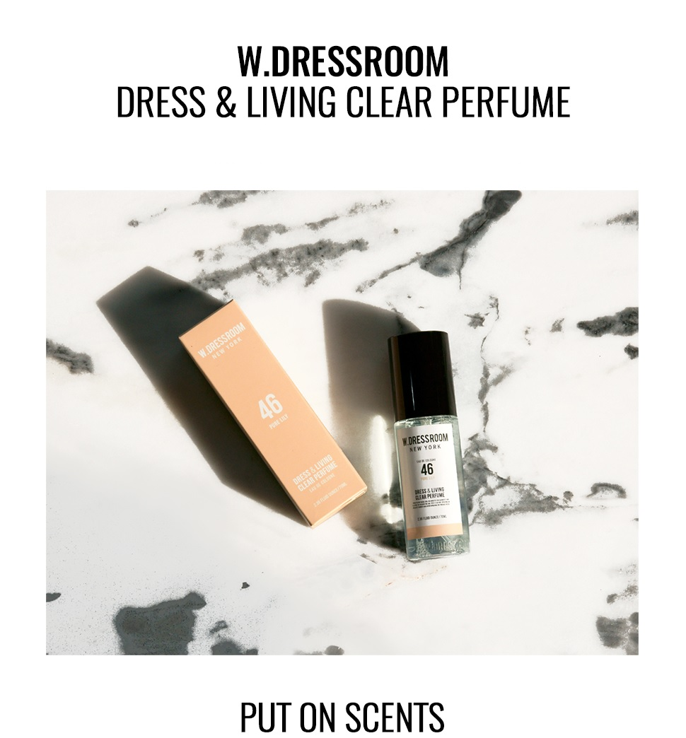 W.DRESSROOM Dress&Living Clear Perfume
