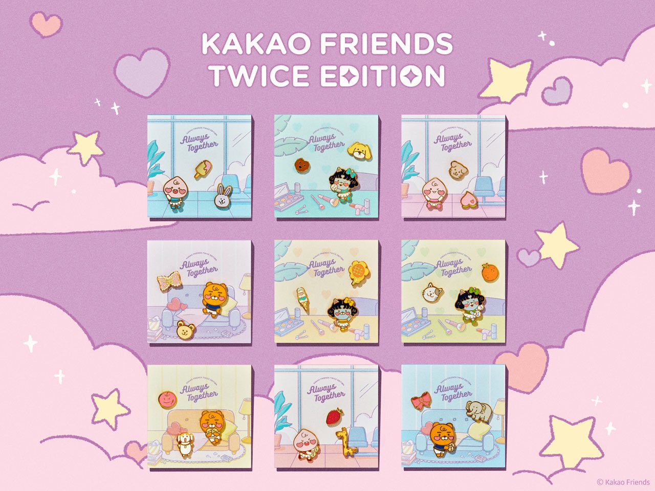Kakao Friends TWICE Edition